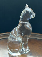 More details for baccarat crystal clear egyptian cat