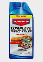 BioAdvanced COMPLETE INSECT KILLER Grub Lawn Turf Grass CONCENTRATE 32oz 700270B