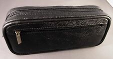 Diabetic Insulin Pen & Glucometer / Glucose meter BLACK premium leather case