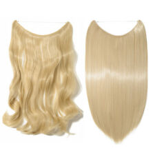 100% As Remy Human Hair Extensions Helo Secret Invisible Wire Hidden Crown Hair