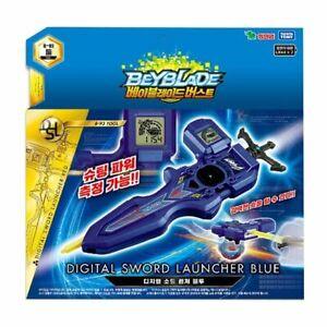 Takara Tomy Beyblade Burst B-93 Digital Sword Launcher BLUE Shooting Korean Ver