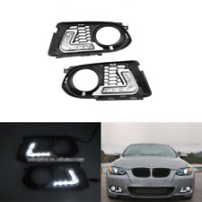 For Bmw E92 E93 M Tech 10-13 Led Daytime Running Fog Daylights Bumper DRL Light