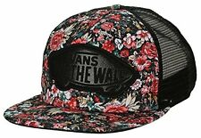 VANS Beach Girl - Womens Trucker Hat (NEW) Adj Snapback Cap FLOWERS Multi Floral