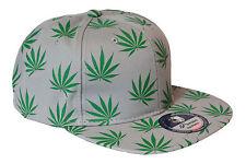 Premium Cap [Weed Series] Snapback A Capuchon CHANVRE leaf De La Marijuana POT Hip-Hop Pr