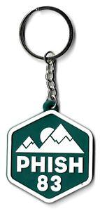Phish '83 Ascend Rubber Keychain - Emblem Symbol Insignia Logo Key Chain 1983