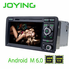 Android 6.0 HD Touchscreen Car RDS FM Radio Player Stereo GPS Navi fr Audi A3 S3