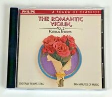 The Romantic Violin, Vol. 2: Famous Encores CD
