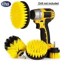 4Pcs Drill Brush Kit - Drill BrushPower Scrubber for Cleaning Bathroom Bathtub