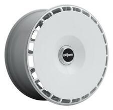 Rotiform AeroDisc 2 - Set Weiss 4x AeroDisc weiß + 4x Zentralverschlüsse schwarz