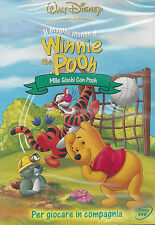 Dvd Disney **WINNIE THE POOH ♥ MILLE GIOCHI CON POOH** nuovo 2003