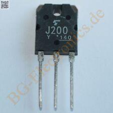 1 x 2SJ200 MOSFET P-Channel 120W -180V -10A  2SJ200Y Toshiba TO-218A 1pcs