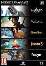 Ubisoft Classics 5 game pack Rayman Far Cry Assassins Creed Beyond Good Evil