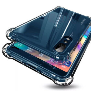 Armor Shockproof Tpu Flame Clear Hard Case Cover For Huawei Mate 20 Lite