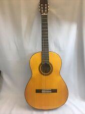 Beautiful Yamaha Parlor Acoustic Guitar Cg101A. One Broken String. w/case