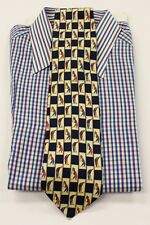 """Classic Paolo by Gucci 'Golfer' Motif Tie!"""