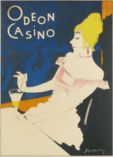 Original poster  - Odeon Casino, (Das Plakat facsimile) by Schnackenberg