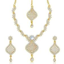 Sukkhi Australian Diamond Stone Studded Necklace Set(2028NADK1200)