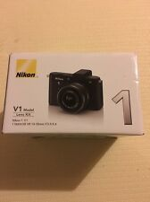 Nikon 1 V1 Mirrorless Digital Camera with 10-30mm Lens (Black) Brand New!