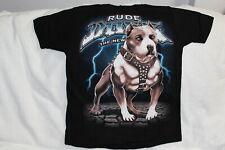 PITBULL RUDE DOGS LIGHTNING T-SHIRT