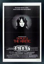 EXORCIST 2 THE HERETIC * CineMasterpieces 1SH ORIGINAL MOVIE POSTER 1977 SATAN