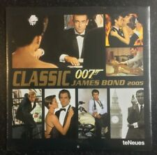 Classic JAMES BOND 007 Calendar 2005 - NEW SEALED - TeNeues