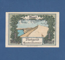 MEMEL1 Mark 1922  fast KASSENFRISCH / aUNC  Ro.847 / P.2