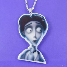 Cadáver de la novia Victor Collar de Tim Burton Emily escena Punk Goth Esqueleto Zombie