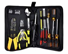 25 Piece PC Handyman Technician Repair Computer Cable Cutter Soldering Tool Kit