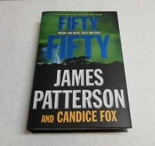 Fifty Fifty by James Patterson & Candice Fox, SIGNED, 1st Edition, HC / DJ, 2018