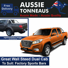 Bunji Tonneau Cover for Great Wall Steed Dual Cab Ute (2016 to Current)