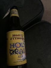 Collector Monty Python's Holy Grail Ale 1pt Empty With Cap Great Bottle