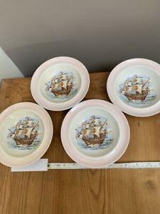 Nelson Ware Elijah Cotton Ltd Set of 4 Soup Bowls