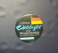 Vintage Warsteiner #1 Beer Germany Celebrate Oktoberfest Advertising Pinback