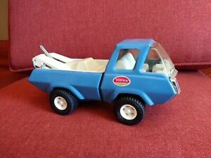 Vintage Tonka Ford Econoline Blue Wrecker Tow Truck 1970's