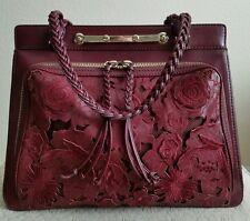 VALENTINO Demetra Napa Leather and  Lace Satchel Handbag Shoulder Bag Sold Out!
