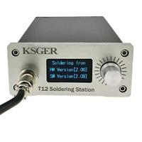 KSGER T12 Soldering Station OLED DIY Kits STM32 V2.01 Temperature Controller CNC