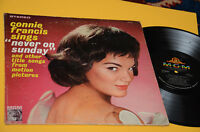 CONNIE FRANCIS LP NEVER ON SUNDAY ORIG US