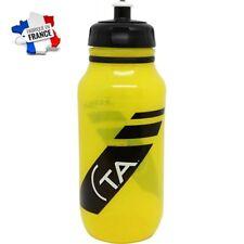 Bidon vélo jaune en plastique Spécialités TA ( gourde rétro  cycliste TDF  )