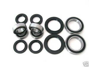Suzuki LT50 All Years Front & Rear Wheel Bearing & Seal Kit