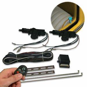 Custom VW Power Door Lock Kit with Remotes Street  AUTVWCK muscle truck hot rod