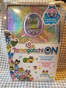 Tamagotchi on - virtual pet Wonder Garden Lavender - 42844 brand new and sealed