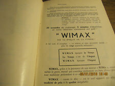 Recettes WIMAX vers 1950