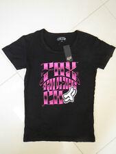 BN Fox Ladies Black Printed Short Sleeve Stretch Tee  Size 8
