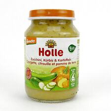 (0,53/100g) Holle Zucchini Kürbis Kartoffeln Bio Gemüsezubereitung 190 g