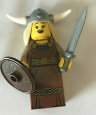 LEGO Minifigures 8831 Series 7 VIKING WOMAN  with stand, complete