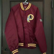 Vintage NFL Washington Redskins Football Team Chalk Line Jacket M Made In USA