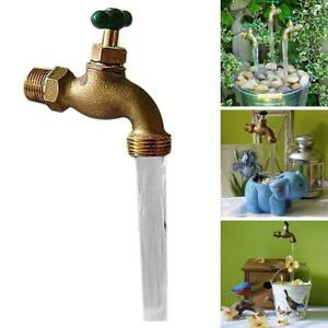Outdoor Garden Invisible Flowing Spout Art Watering Home Fountain Ornament HOT