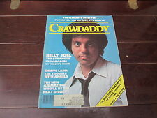 Crawdaddy Magazine November 1978 - Billy Joel on the cover