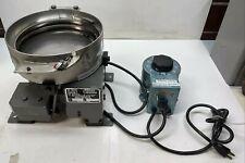 Hendricks Engineering 6896 10 Vibratory Bowl Feeder Withstaco Speed Control 115v