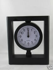 NEW ABSTRACT ALARM CLOCK/DESK-TABLE CLOCK-ROUND-Gift Idea